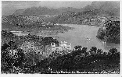 Strancally Castle On The Blackwater Above Youghal Waterford Co. Waterford