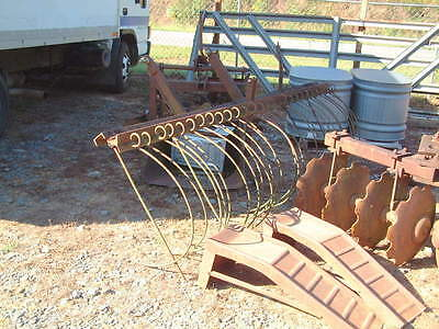 Large 9 Ft. Hay Rake, 3 Point Hitch, Manufactured by Fordmac USA