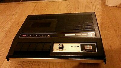 Sharp RD-473H Vintage Tape Player Recorder Dictaphpne - VGC 1977