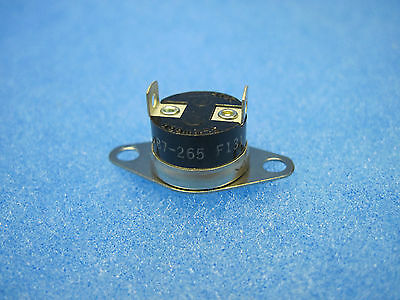 Elmwood 2450 Thermal Sensor (Bimetal Thermostat) NORMALLY OPEN N.O. 87-265 F131