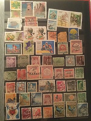 Mixed Asia Stamp Collection - Big
