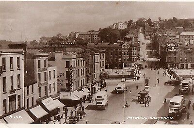 PATRICK'S HILL CORK IRELAND RP IRISH POSTCARD by VALENTINES No. R1119