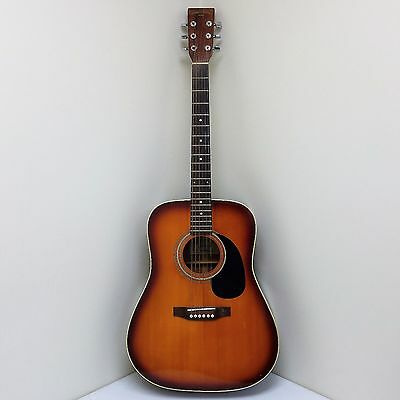 Rare Nagoya Suzuki SD335VS Acoustic Guitar w/SLM Stage Gear Hard Case Buy It Now