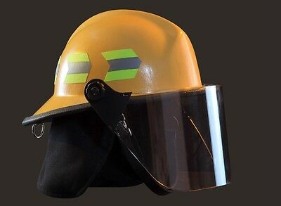 STRUCTURAL CHIEFTAIN FIREFIGHTER HELMET MODEL 911 with shield