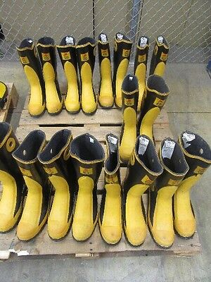 One pair NEW ACTON FIREPRO FIREFIGHTER BUNKER TURNOUT Gear BOOTS