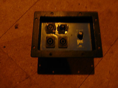 Eminence PX2 1K6 Crossover plate with HF level attenuator