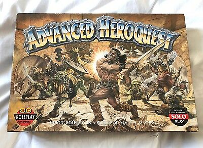 Advanced Heroquest - Box set, Rules, Complete, 1989
