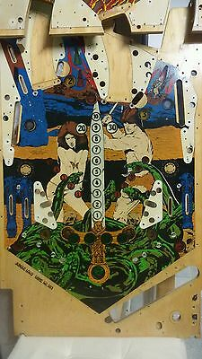pinball machine jungle lord williams  playfield