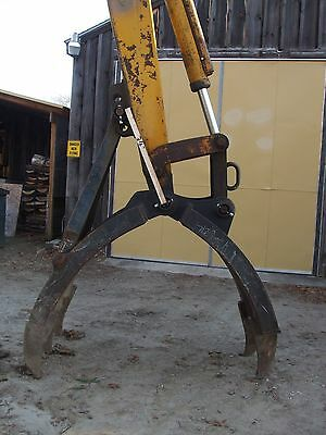 Excavator Grapple Attachment, Demolition, from 38,000# machine,Material handling