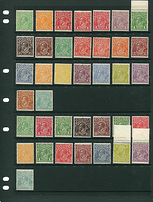 Geo V Complete 72 Issues Superb Unmounted