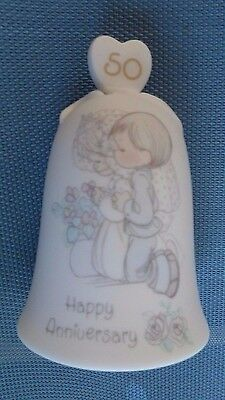 Nice Precious Moments 50th Anniversary Bell - 1994