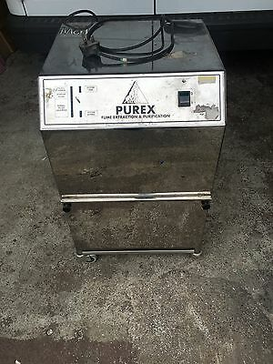 Purex Fume Extractor & Purifier Industrial Fume Extraction & Purification