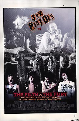 FILTH AND THE FURY, THE (2000) Set of 15 proofs of concept for US-release poster