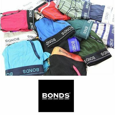 5 x MENS BONDS UNDERWEAR Guyfront Trunks Briefs Boxer Assorted Shorts Size S-XXL