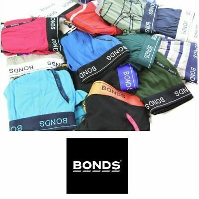 6 x MENS BONDS UNDERWEAR Guyfront Trunks Briefs Boxer Assorted Shorts Size S-XXL