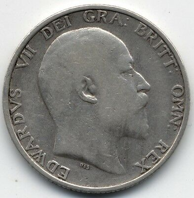 1906 Edward VII Silver One Shilling***Collectors***