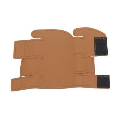 Brown Protection Custom Faux Leather Cover Valve Guard for Trumpet Parts