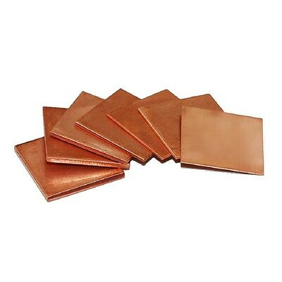 Metal Copper Sheet Copper Sheet Plate Guillotine Cut 0.3/0.5/0.8/1.0/1.2/1.5/2mm