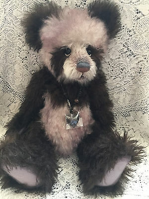 Charlie Bears AMALIE 2012 Isabelle Mohair Collection FREE US SHIP