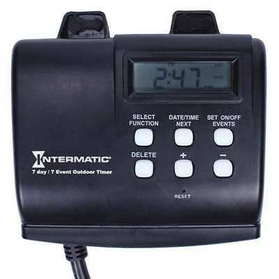 Timer,Digital,120V,15A,Plug In INTERMATIC HB880R