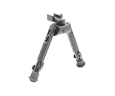 UTG Heavy Duty Recon 360 Bipod, Cent Height 6.69-Inch-9.12-Inch