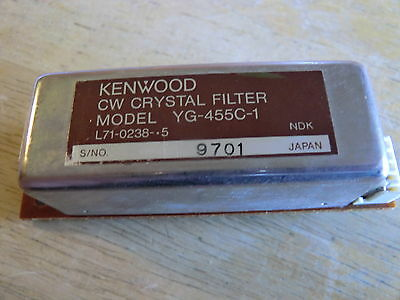 Kenwood Cw Crystal Filter Yg 455C-1 For Ts 950 940 930 850 450 140