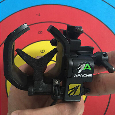 NAP Apache Full Containment Drop Away Arrow Rest RH Compound Bow Hunting Archery