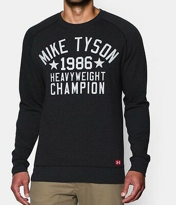 Under Armour UA Roots Of Fight Mike Tyson WHC Fleece Sweatshirt 1274095