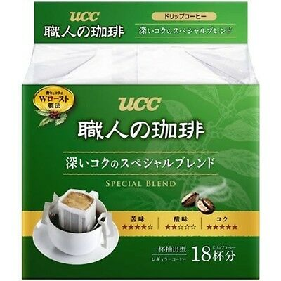 UCC Japan Instant Drip Coffee Craftsman Richness Aroma Blend 18 packs from Japan