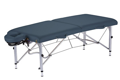 Earthlite Luna Portable Massage Table Package, Mystic Blue