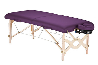 Earthlite Avalon XD Portable Massage Table Package, Amethyst