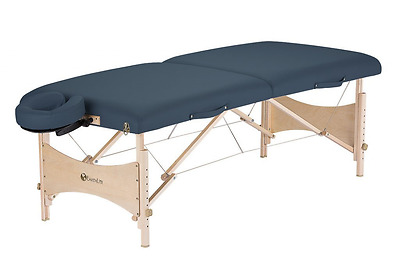 Earthlite Harmony DX Portable Massage Table Package, Agate Blue