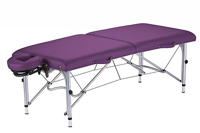 Earthlite Luna Portable Massage Table Package, Amethyst
