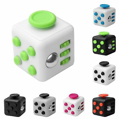 Magic Cube Toys Anxiety Stress Relief Focus 6-side Gift For Adults&Child New