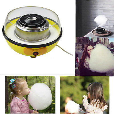 110V Electric Cotton Candy Machine Maker Sugar Floss Party Home Use US Plug
