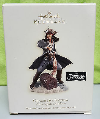 2007 Hallmark Keepsake Ornament - Captain Jack Sparrow Pirates of the Caribbean