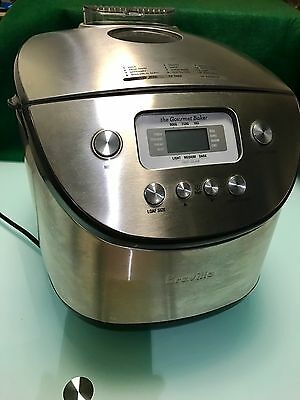 Breville The Gourmet Baker Breadmaker Model:BBM400 Stainless Steel