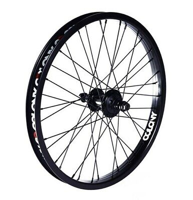 "Colony Wasp Pintour 20 RHD"" Rear BMX Cassette Wheel - Black Rear Wheel only"