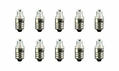 CEC #222 Bulb 2.25V 0.56W, E10 Base (Box of 10)