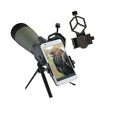 Universal Mobile Phone Holder,Spotting Scope Cellphone Adapter Mount