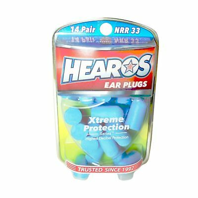 HEAROS Xtreme Protection Noise Cancelling Disposable Foam Earplugs NRR 33...
