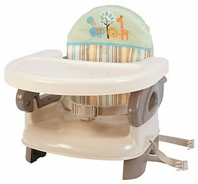 Summer Infant 2 Level Booster Seat Safari Stripe