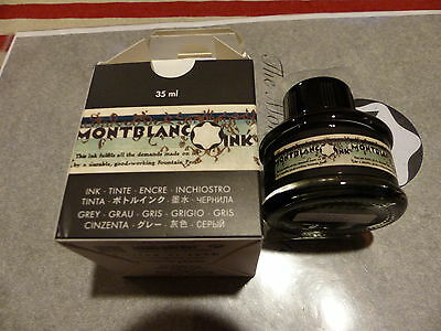 """MONTBLANC Special Edition Ink 2014 """"Meisterstück 90 Years"""" Permanent Grey"""