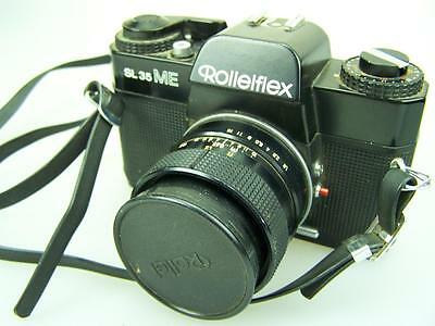 Rolleiflex SL35 ME film camera with Rollei HFT 1,8/50 lens