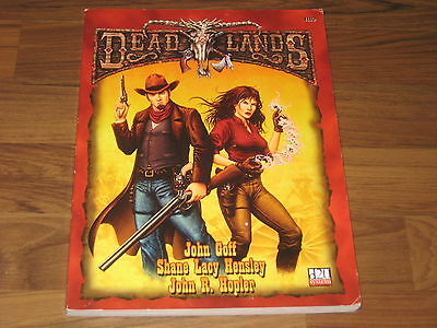 Deadlands d20 The Weird West Core Rules Softcover 2001 Pinnacle 1110