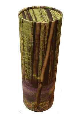 Funeral Memorial Large Ashes Scatter Scattering Tube Urn Casket Bluebell Woods
