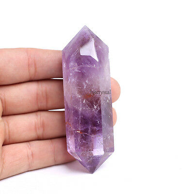 2.36-2.75'' Real Natural Healing Quartz Crystal Wands Amethyst Points Cure Gems