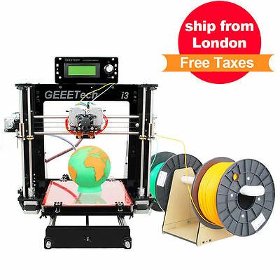 GEEETECH 3D Printer Pro C Dual-MK8-Extruder Prusa i3 Complete Kit For DIY