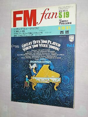 FM fan Japan Magazine book 1975 No.11 Olivia Newton-John QUEEN James Brown TOMMY