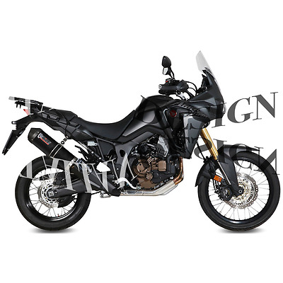 exhaust kat MIVV oval carbon carbon cup honda crf 1000 l africa twin 2016 16